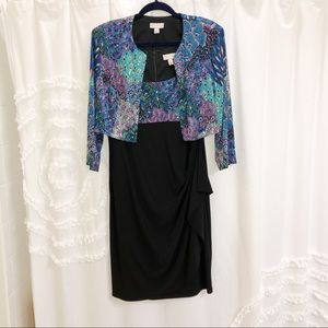 Dress Barn matching dress & jacket